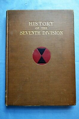 History of the seventh Division 1917-1919