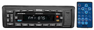 Boss MR1315BUA Marine Boat Digital Media Receiver w/MP3/AM/FM/USB/SD/AUX+Remote