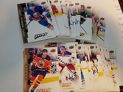 2018-19 Ud Mvp Sp's/rc's (#201-250) U-Pick From List Mittelstadt Rc Donato Rc ++