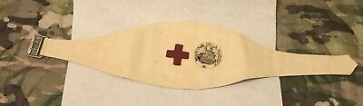 WW1 Original Medic Armband As Worn By The AEF And French Forces