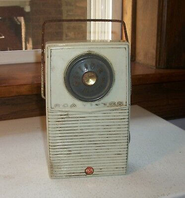 RCA Victor Radio IMOAC Model PT-1 Works!!!