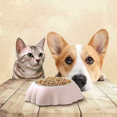Pet Feeding Bowl Dog Cat Food Water Container Detachable Drinking Bowl Dish 1PC