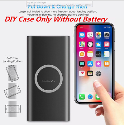 Portable 10000mAh LCD Power Bank External 2 USB Battery Charger For Cell Phone