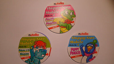 Happy-Star Mobile Nr. 2, 3,und 4 FERRERO 1994 nutella