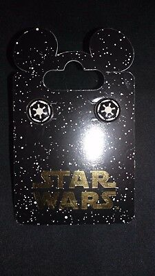 Disney Parks Star Wars Galactic Empire Earrings New On Card