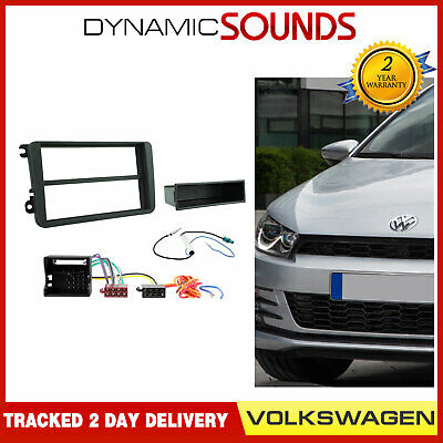 CTKVW01-ISO Cadre Facial Simple Din Kit D'Installation pour VW Polo Scirocco