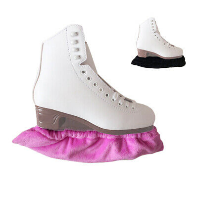 2 Pairs / Lot Ice Figure Skate Blade Guards for Hockey Skates Black & Pink