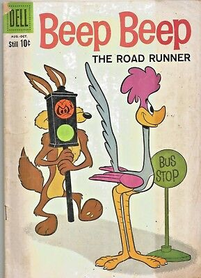 Beep Beep The Road Runner #6  Wile E. Coyote * Elmer Fudd  Dell Silver-Age 1960