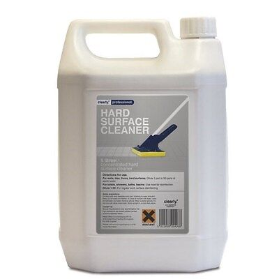 Clearly Professional Hard Surface Cleaner 5 Litre B6AP#
