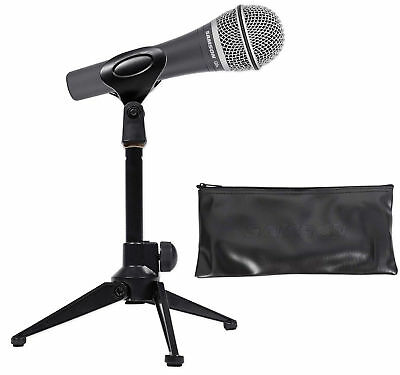 Updated New Original Samson Q8 Professional Dynamic Vocal Microphone Handheld Microphone With Carry Bag And Clip Free Shipping Consumer Electronics