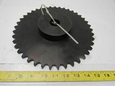 "#60 Roller Chain Sprocket 41t 1-3/16"" Bore"