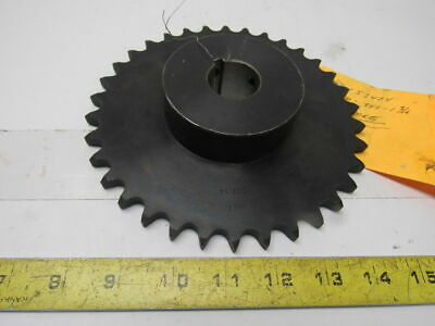 "#50 Roller Chain Sprocket 34T 1-3/16"" Bore"