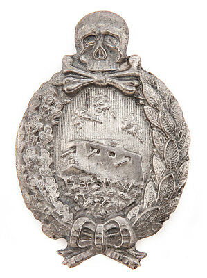 German WW1 Tank Crew Panzer Badge