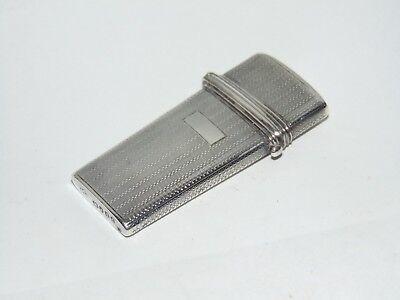 RARE ANTIQUE 1841 SILVER SURGICAL LANCET FLEAM CASE ETUI by GEORGE COWIE LONDON
