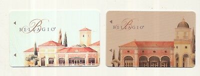 2--diff--BELLAGIO--Las Vegas,NV---room keys----K-66