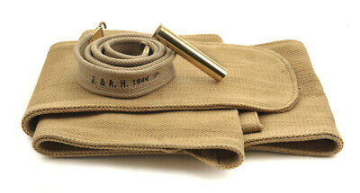 British Lee Enfield Sling Brass Oiler and Canvas Carry Case