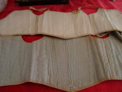 Two Fabulous Unused With Original Tags French Childs Corsets  C.1900 ~ Dolls