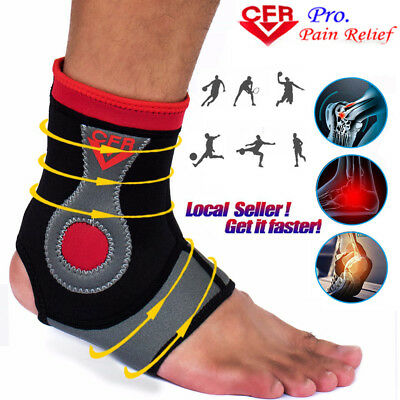 Neoprene Ankle Brace Support Guard MMA Foot Muay Thai Boxing Gym SportS Orthosis