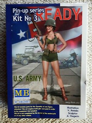 MB 24003 Figur US-ARMY PIN-UP Series No. 3 Alice Scale 1/24  Master Box NEU OVP