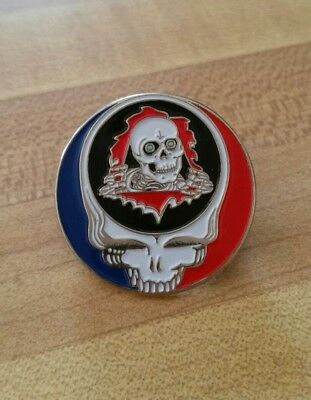 Grateful Dead Steal Your Face Pin. Powell Skateboards. Ripper.