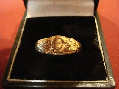 Ancient Byzantine / Medieval Bronze Ring--Detector Find