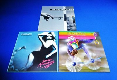 Scorpions  -> 3 Top Lp  -> Crazy Worls+Fly To The Rainbow+Savage Amusement  Top+