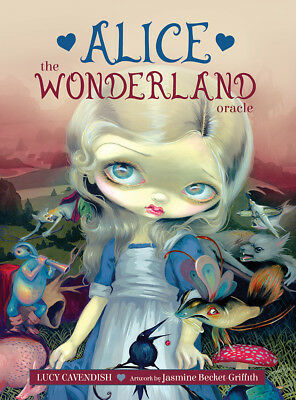 ALICE: THE WONDERLAND ORACLE Tarot Card Deck & Book Set Jasmine Becket-Griffith
