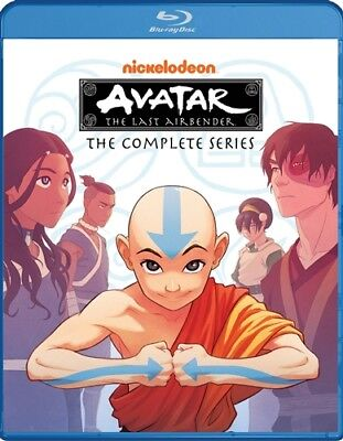 AVATAR THE LAST AIRBENDER COMPLETE TV SERIES New Sealed Blu-ray Seasons 1 2 3