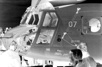 Boeing Vertol CH-47E Chinook detail 35mm photo negatives