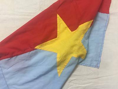NORTH VIETNAM  , Battle Flag    ,  VIETCONG FLAG , NLF flag ,  great condition