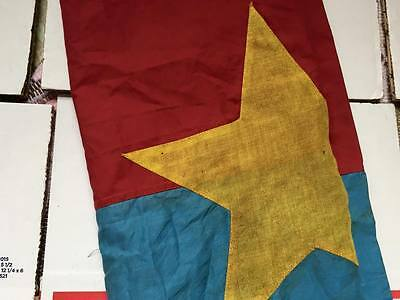 NORTH VIETNAM  , Battle Flag    ,  WAR flag , VIETCONG FLAG , NLF flag , War f