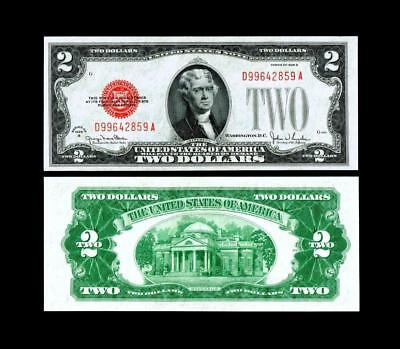 1928G $2 Red Seal United States Note~~ UNCIRCULATED