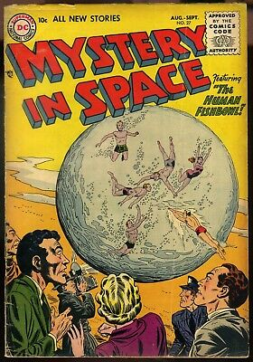 Mystery In Space #27 VG