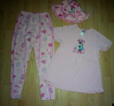 Disney Store Minnie Mouse 3 Piece Girls Outfit Size 7-8