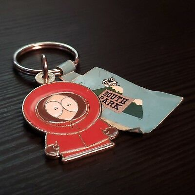 1990s Licensed Authentic Metal South Park Kenny KeyChain 1 Piece - ALEX