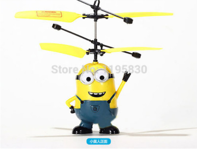 Top Fly Toys RC Despicable Me Minion Helicopter Quadcopter Drone VS jjrc h31 h4