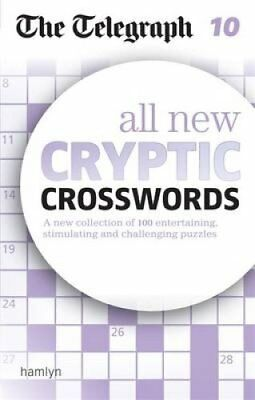 The Telegraph: All New Cryptic Crosswords 10 9780600633112 (Paperback, 2016)