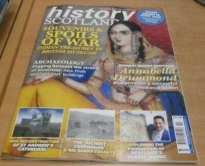 History Scotland magazine Sep/Oct 2018 Indian Treasures in British Museums &more