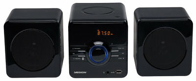 MEDION LIFE E64029 MD 84056 Micro-Audio-System UKW Stereo MP3 CD 2x50 Watt