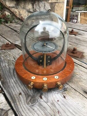 Rare Philip Harris & Co 1913 Birmingham Tangent Galvanometer Science Electricity