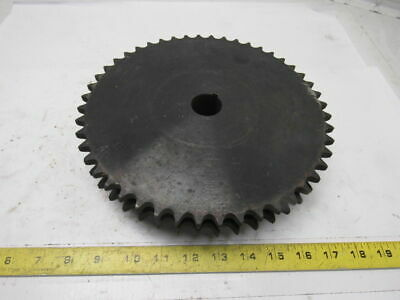"#50 Roller Chain 2 Strand 50-2 Sprocket 48T 1-3/16"" Bore"