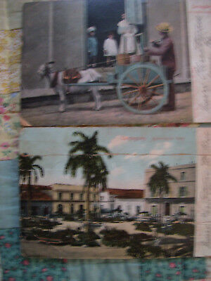 EARLY 1900' s  REPUBIC OF CUBA POSTCARDS