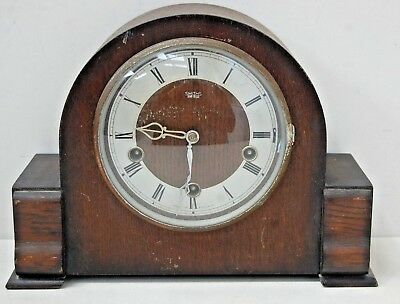 Vintage Smiths - Enfield Mantel Clock with Westminster Chimes Circa 1950