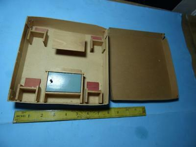 1950's DOLLS HOUSE UTILITY RETRO FURNITURE SET OLD STORE FIND