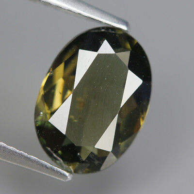 cute 2.87Ct Natural Unheated Greenish Yellow KORNERUPINE Oval Gem @ See Video !!