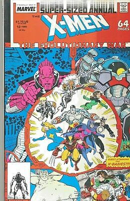 X-Men The Uncanny Annual #12  Evolutionary War  Giant-Size  Marvel  1988  Nice!!
