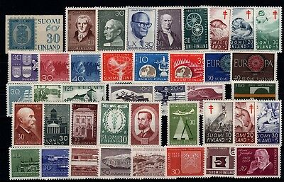 P79528 / Finlande / Finland / Y & T # 491 / 531 Complet Neufs * / Mint Mh 112 €