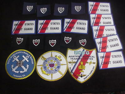 Coast Guard Patches (20) A-4