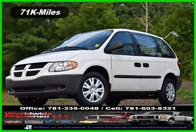 Dodge Caravan Cargo CV 2003 Dodge Caravan CV Cargo Van 3.3L Gas Mini Van Fleet Maintained by USPS