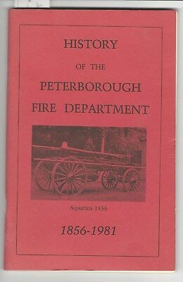 History Peterborough NH Fire Department American LaFrance Engines etc. Photos